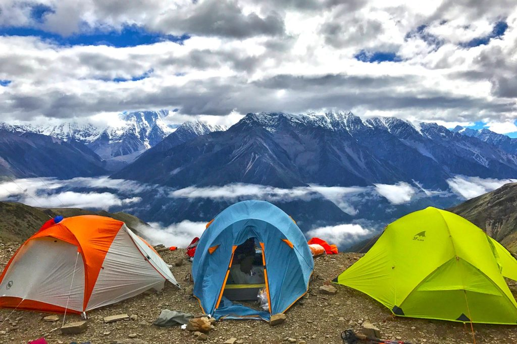 אוהל זוגי ומשפחתי